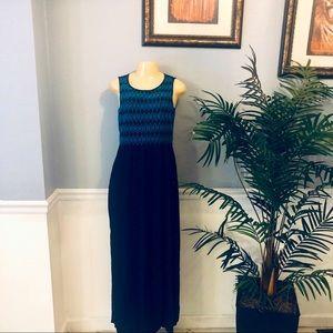 Spenser Jeremy Size M & L  Navy Blue Maxi Dress